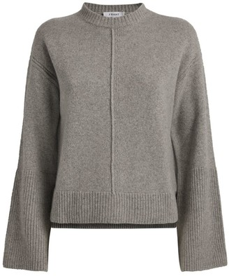 Frame Cashmere Bell-Sleeve Sweater
