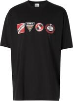 Burberry logo graphic T-shirt
