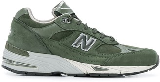 New Balance stitching detail sneakers
