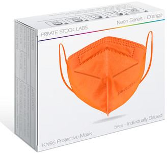 Private Stock Labs 5-Pack KN95 Disposable Face Masks