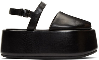 Marsèll Black Ceppo Sandals