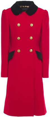Dolce & Gabbana Double-breasted Wool-blend Twill Coat