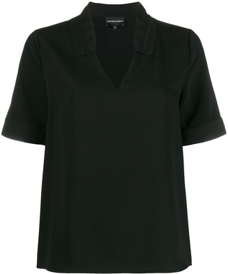 Emporio Armani Short-Sleeved Blouse