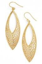 Argentovivo Openwork Drop Earrings