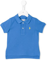 Ralph Lauren embroidered logo polo shirt - kids - Cotton - 12 mth