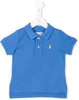 Ralph Lauren embroidered logo polo shirt - kids - Cotton - 18 mth