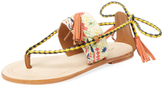 Antik Batik Tarata Embroidered Thong Sandal