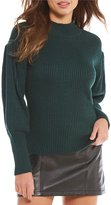 Gianni Bini Piper Puff Sleeve Sweater