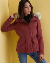 Only Short Hooded Parka Jacket