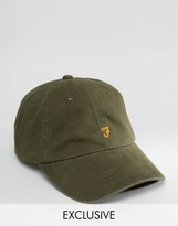Farah Baseball Cap In Olive Exclusive