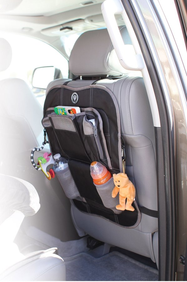Prince Lionheart Back Seat Organizer - Black/Grey - One Size