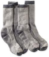 L.L. Bean Men's Cresta Hiking Socks, Midweight Two-Pack