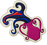 Diane von Furstenberg Zodiac Leather Appliqué Patch