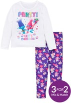 DreamWorks Trolls Girls Top And Legging Set