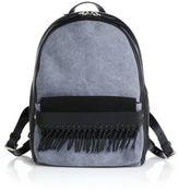 3.1 Phillip Lim Bianca Mini Fringed Leather & Denim Backpack