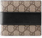 Gucci GG Supreme wallet - men - Leather/Canvas - One Size