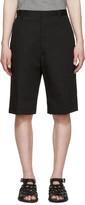 Lanvin Black Tailored Shorts