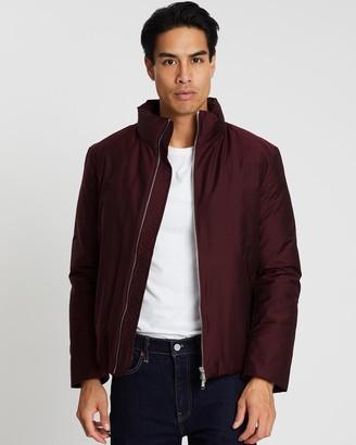 Cerruti Padded High-Neck Jacket