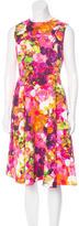 Valentino Floral A-Line Dress
