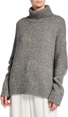 Co Chunky Knit Turtleneck Sweater