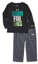 Under Armour Infant Boy's Born For This T-Shirt & Sweatpants Set