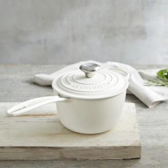 The White Company Le Creuset Saucepan , White, One Size