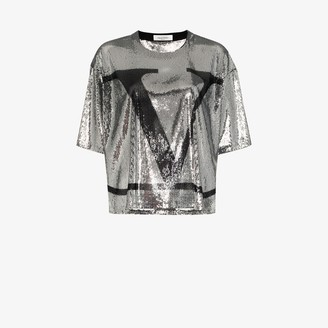 Valentino VLOGO sequin T-shirt