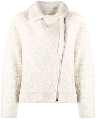 Yves Salomon Short Shearling Jacket