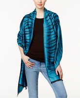 MICHAEL Michael Kors Zebra Jacquard Wrap, Only at Macy's