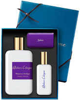 Atelier Cologne Mimosa Indigo Cologne Absolue, 200 mL with Personalized Travel Spray, 1.0 oz./30 mL