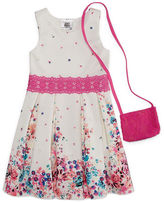 Knitworks Knit Works Sleeveless Skater Dress - Preschool Girls