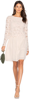 See by Chloe Long Sleeve Lace Mini Dress