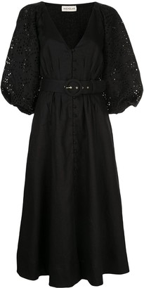 Nicholas Lace Sleeve Dress