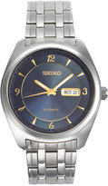Seiko Men's Automatic Recraft Series Stainless Steel Bracelet Watch 45mm SNKP01