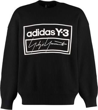 Y 3 Intarsia Wool Sweater