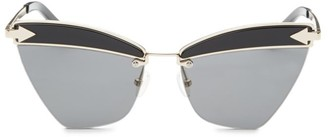 Karen Walker Sadie 59MM Cat Eye Sunglasses