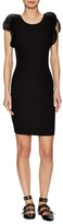 Opening Ceremony Gathered Cuff Sheath Dress