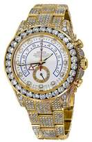 Rolex Yacht-Master II 116688 18K Yellow Gold White Dial Automatic Watch