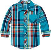 Arizona Long-Sleeve Classic Woven Shirt - Toddler Boys 2t-5t
