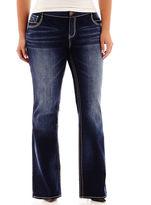 JCPenney Ariya Curvy Bootcut Jeans - Juniors Plus