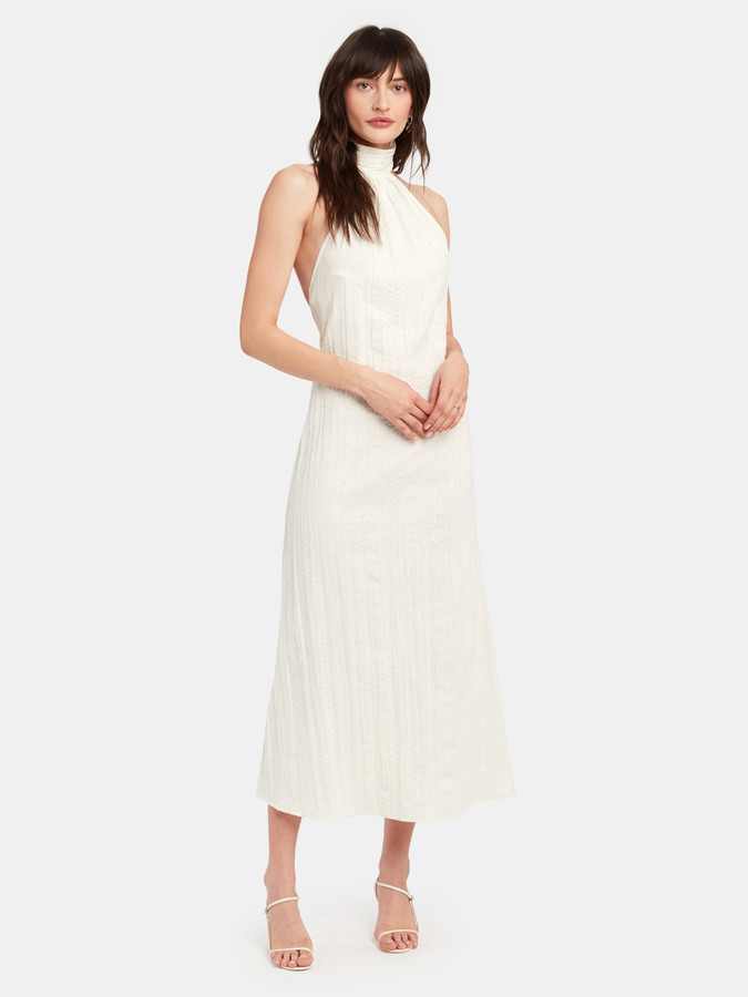 The Line By K Kaito Crinkle Midi Dress