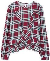 MANGO Tartan shirt