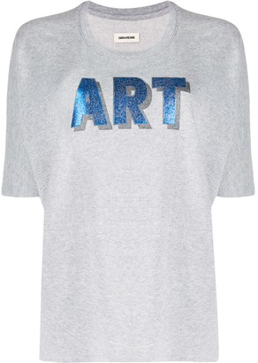 Zadig & Voltaire Art print short sleeve T-shirt