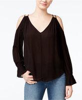 Jessica Simpson Lexa Cold-Shoulder Top