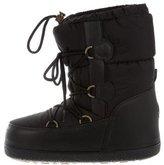 Moncler Lace-Up Snow Boots