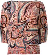 Etro three-quarters sleeve blouse - women - Silk - 44