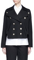 Lanvin Double breasted military wool jacket