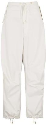 Dion Lee Parachute Ivory Cotton Trousers
