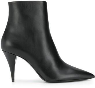 Saint Laurent Lexi pointed-toe ankle boots