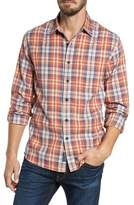 Grayers Scottsdale Slim Fit Plaid Slub Twill Sport Shirt